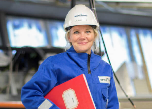 Meyer Turku | Laura Klami, Käyttöönottoinsinööri, Varustelu